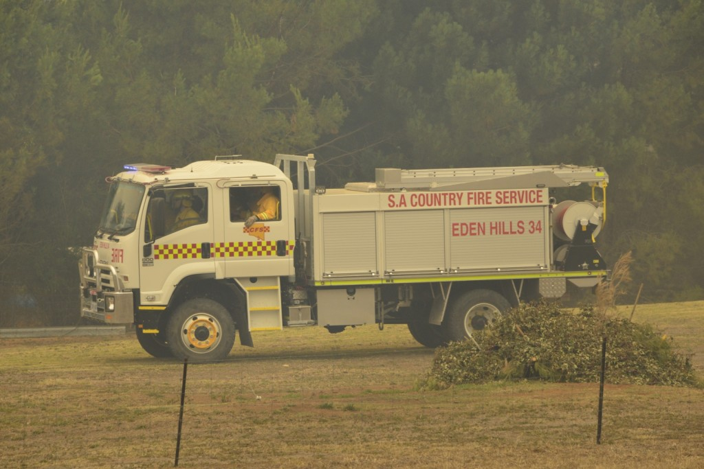 Eden Hills 34P at the Sampson Flat Fire (Photo Ashley Hosking - CFS promotions unit)
