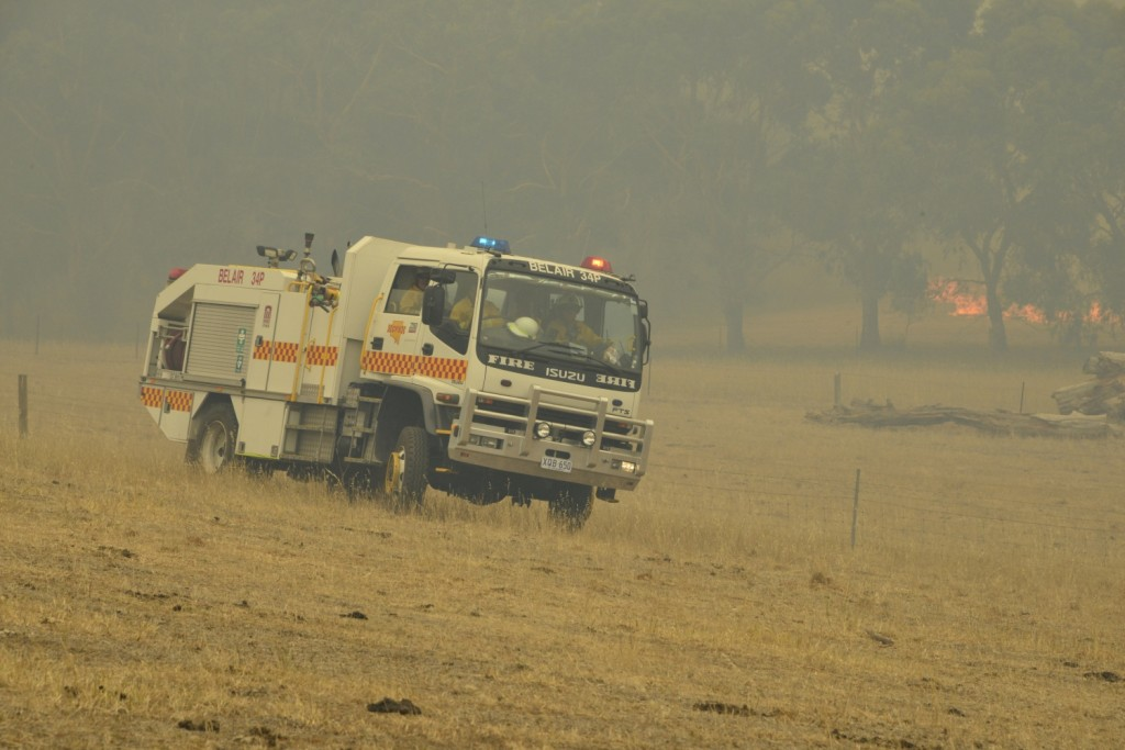 Belair 34P at the Sampson Flat Fire (Photo Ashley Hosking - CFS promotions unit)